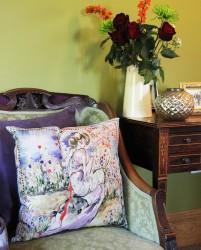 Ariadne Silk Cushion