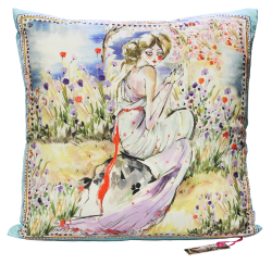 Ariadne Silk Cushion