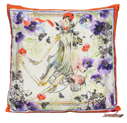 Cleapatra Silk Cushion
