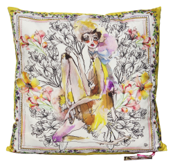 Matilda Silk Cushion