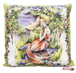 Ophelia Silk Cushion